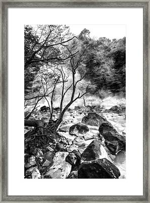 Kirishima Framed Print
