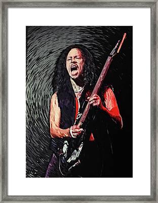 Kirk Hammett Framed Print
