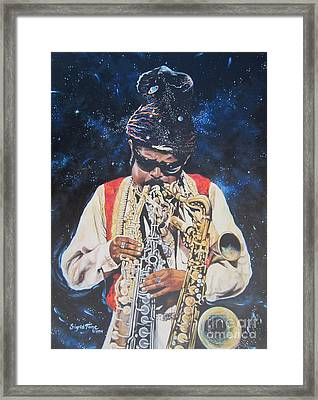 American History. .  Rahsaan  Roland Kirk  Framed Print