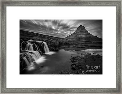 Kirkufellsfoss  Framed Print