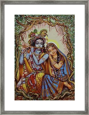 Kishor Kishori Framed Print
