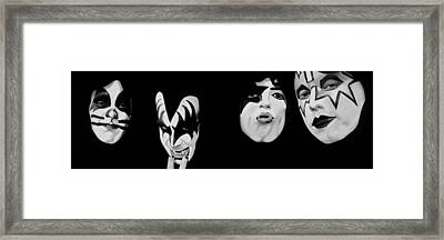 Kiss 78 Framed Print by Brian Broadway