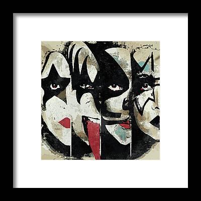 Paul Stanley Framed Prints