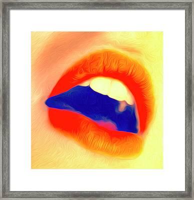 Kiss Me- Framed Print