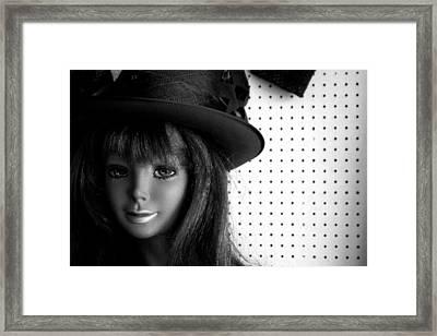 Kiss Me Framed Print by Jez C Self