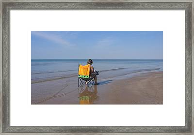 Framed Print featuring the photograph Kiss Me... by Maciek Froncisz
