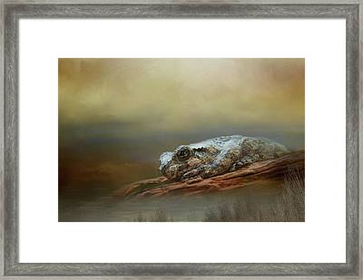 Framed Print featuring the photograph Kiss Me by Steven Richardson