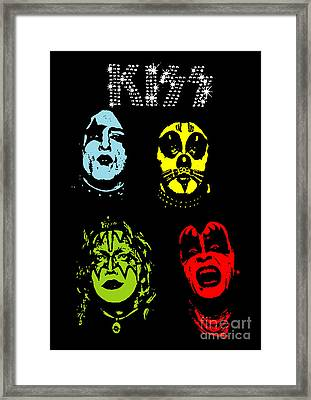 Kiss No.02 Framed Print