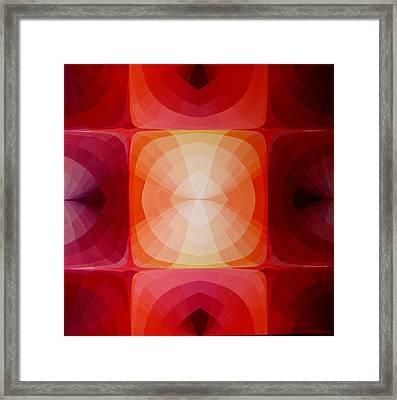 Kiss Of Light Framed Print