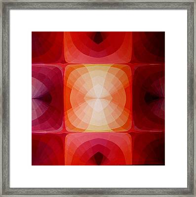 Kiss Of Light Framed Print by Rui Coelho dos Santos