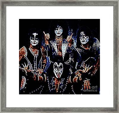 Kiss Framed Print by Paul Ward