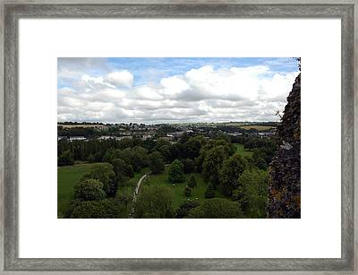 Framed Print featuring the photograph Kiss The Blarney Stone by Dianne Levy