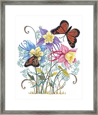 Framed Print featuring the painting Kiss The Sun by Stanza Widen