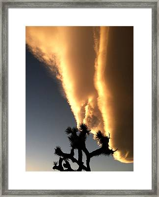 Kissed By A Cloud Framed Print by John Smolinski