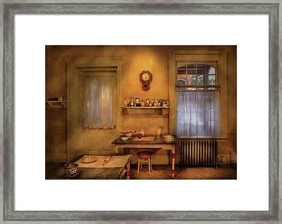 Kitchen - Granny's Kitchen Framed Print
