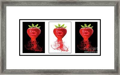 Kitchen Art Framed Print by Prar Kulasekara