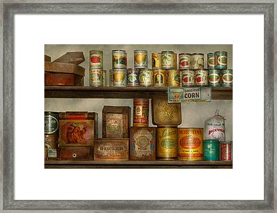 Kitchen - Food - Side Dishes Framed Print by Mike Savad