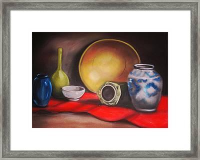 Kitchen Glory Framed Print by Scott Easom