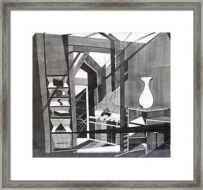 Kitchen Framed Print by Katrice Kinlaw