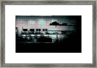 Kitchen Framed Print by Michael Morrison
