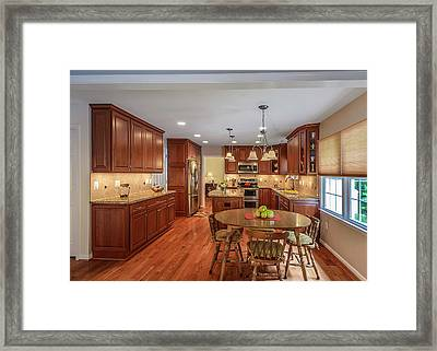 Kitchen Remodeling Springfield Va Framed Print by Foster