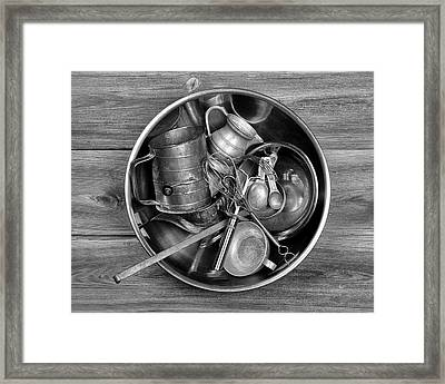 Kitchen Utensils Still Life I Framed Print