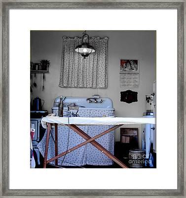 Kitchen Works 1942 Framed Print
