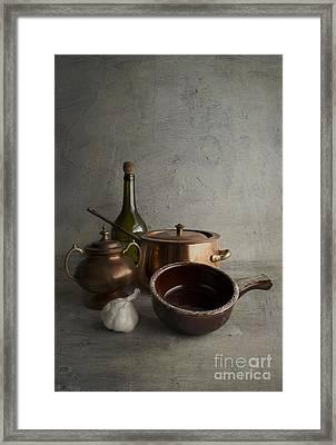 Kitchenware Framed Print by Elena Nosyreva