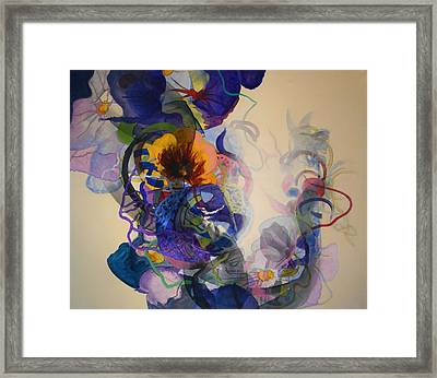 Framed Print featuring the painting Kitsch Dna by Georg Douglas