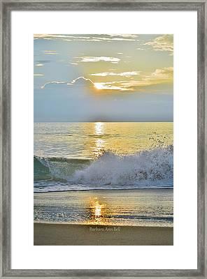 Kitty Hawk Sunrise 8/20 Framed Print