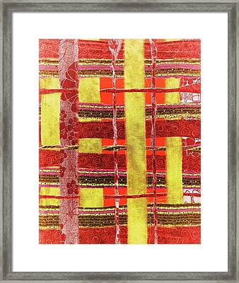 Kiva Framed Print by Glenda Banta