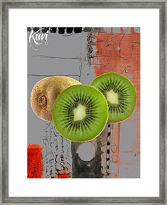 Kiwi Collection Framed Print