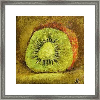 Kiwifruit Framed Print
