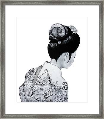 Kiyo Framed Print by Lorraine Foster