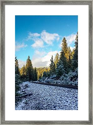 Kkkold 17 Degrees Framed Print