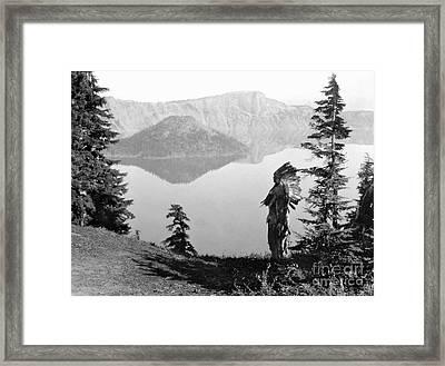 Klamath Chief, C1923 Framed Print by Granger