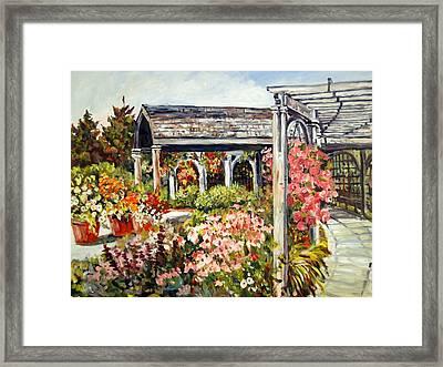 Klehm Arboretum I Framed Print