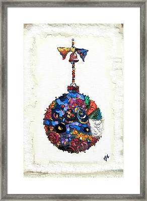 Klimt Ornament Framed Print