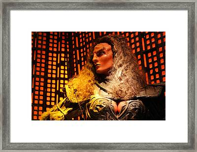 Framed Print featuring the photograph Klingon by Kristin Elmquist