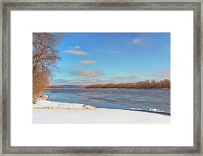 Klondike Park Boat Ramp Framed Print