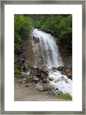 Klondike Waterfall Framed Print