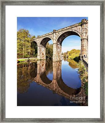 Knaresborough Viaduct, North Yorkshire Framed Print by Colin and Linda McKie