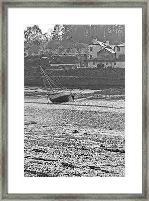 Knee Deep In Mud Framed Print by Terri Waters