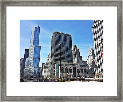 Chi-town Framed Print by 2141 Photography