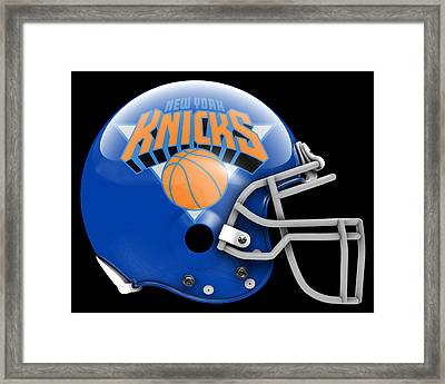 Knicks What If Its Football Framed Print
