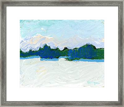Knife Lake Framed Print by Rodger Ellingson
