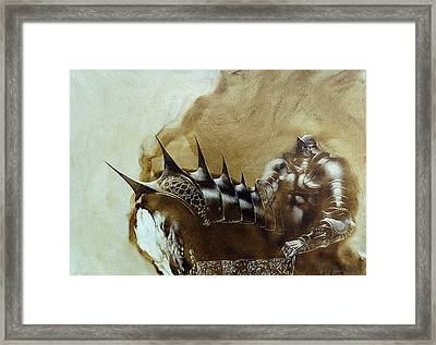Knight 1 Framed Print