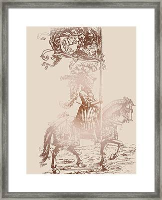 Knight In Shining Armor Framed Print by