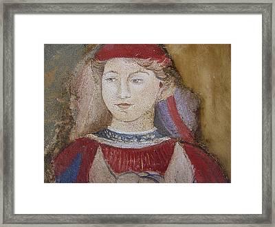 Knight Framed Print by Maria Grazia  Repetto