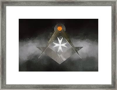 Knight Mason Framed Print